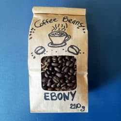 Cafe Hub | Ebony Coffee Beans 250g image