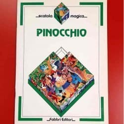 Italian Pinocchio Game Book