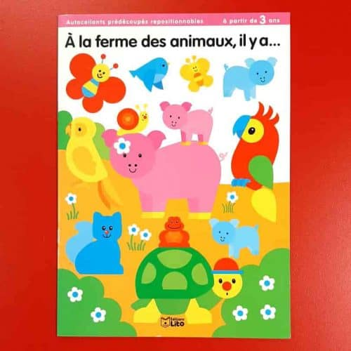 Language Hub Community Shop | French sticker book