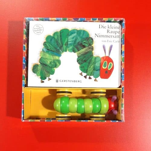The Hungry Caterpillar Book and Toy (German)